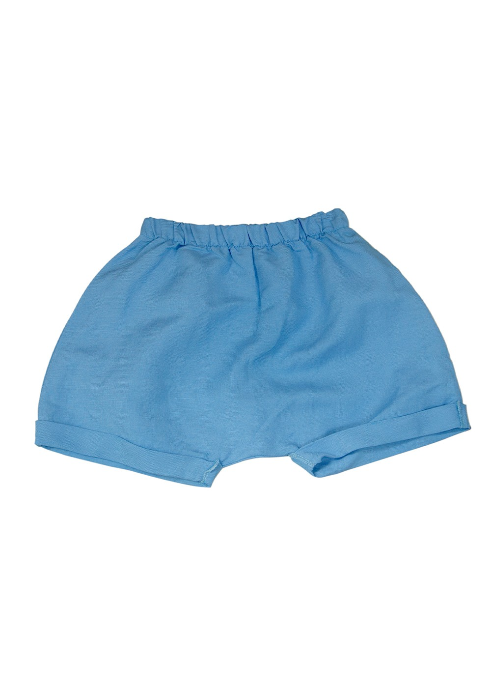 Short Linho Saruel Azul