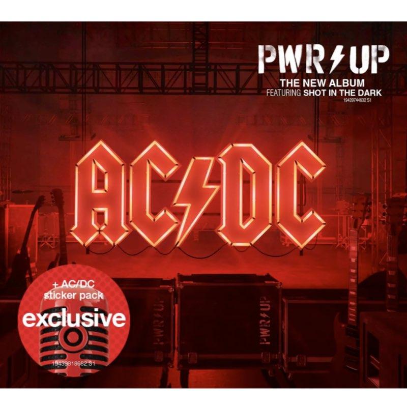 AC/DC - PWR UP [CD Edição Limitada com Adesivos - Target Exclusive]