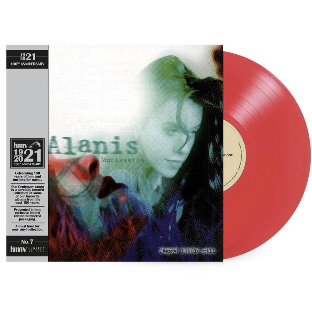 Alanis Morissette - Jagged Little Pill [hmv Exclusive] the 1921 Centenary Edition - Red Vinyl