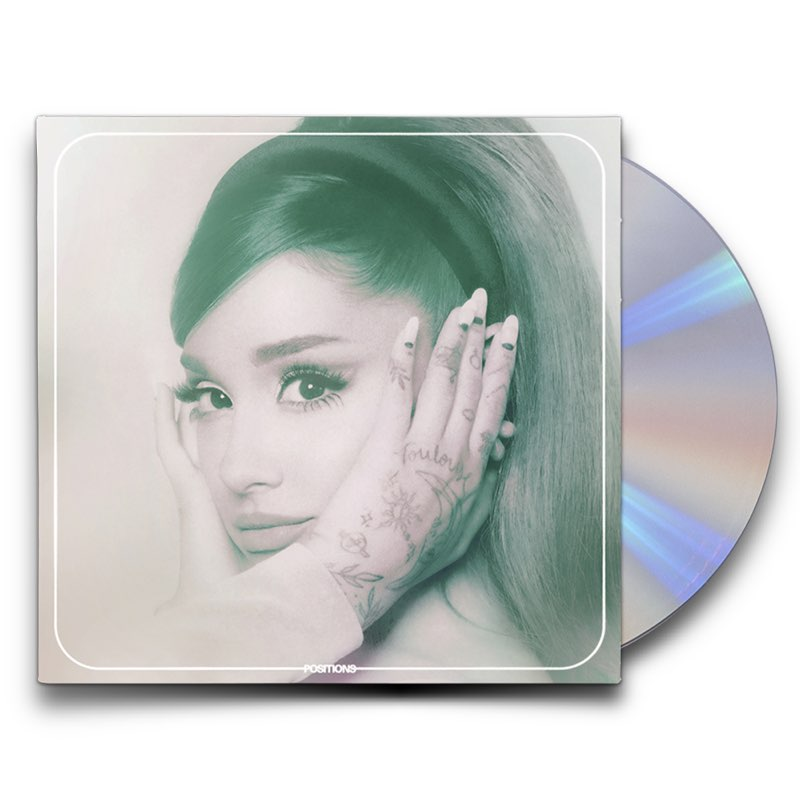 Ariana Grande - Positions Limited Edition CD 2