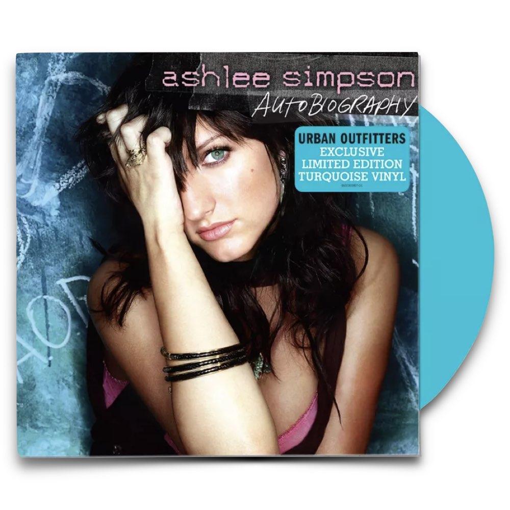 Ashlee Simpson - Autobiography [Limited Turquoise Vinyl]
