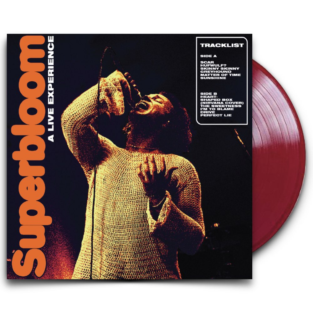 Ashton Irwin - Superbloom [A Live Experience - Limited Red Vinyl]