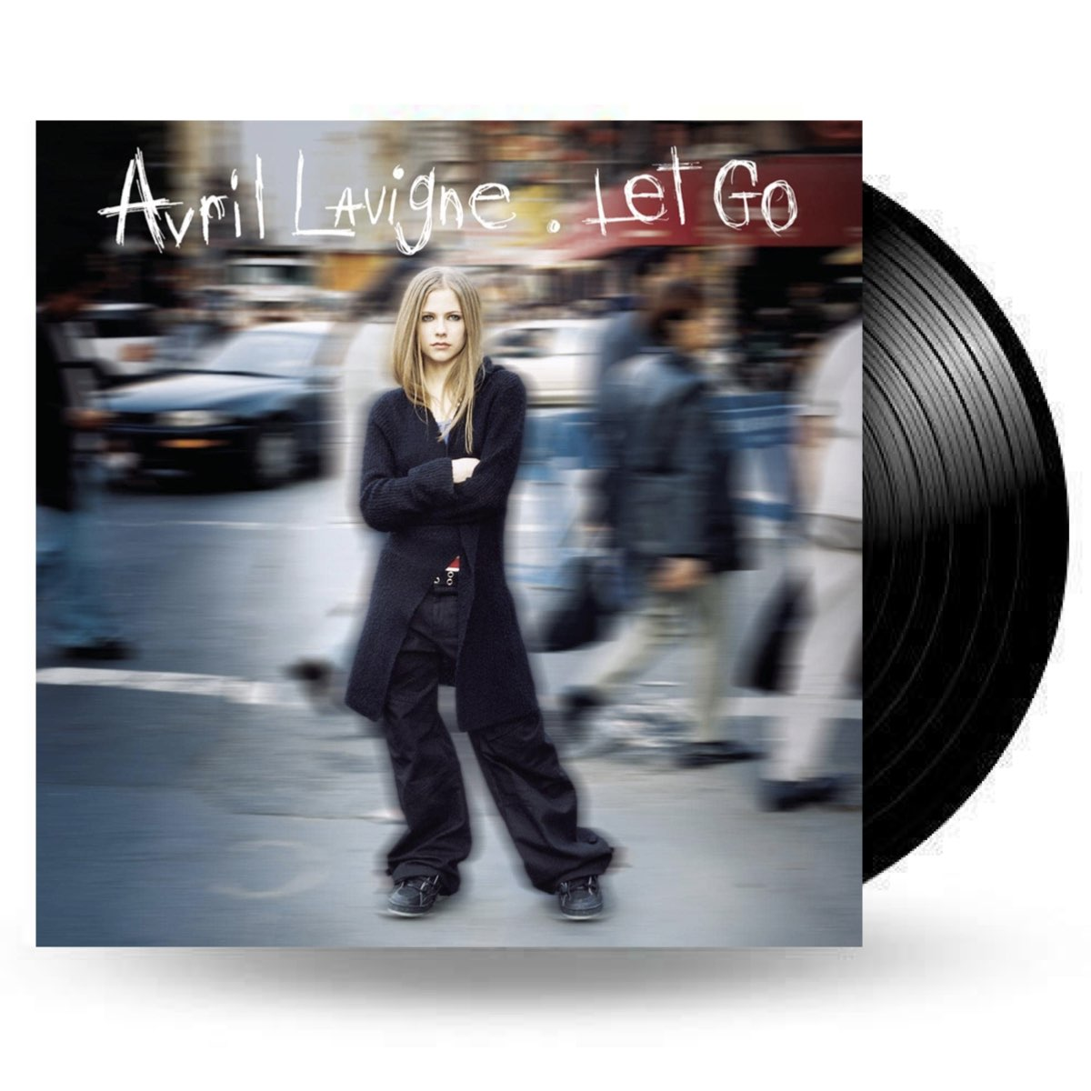 OUTLET - Avril Lavigne - Let Go [Double Black 180g Vinyl] - AVARIA - LEIA A DESCRIÇÃO