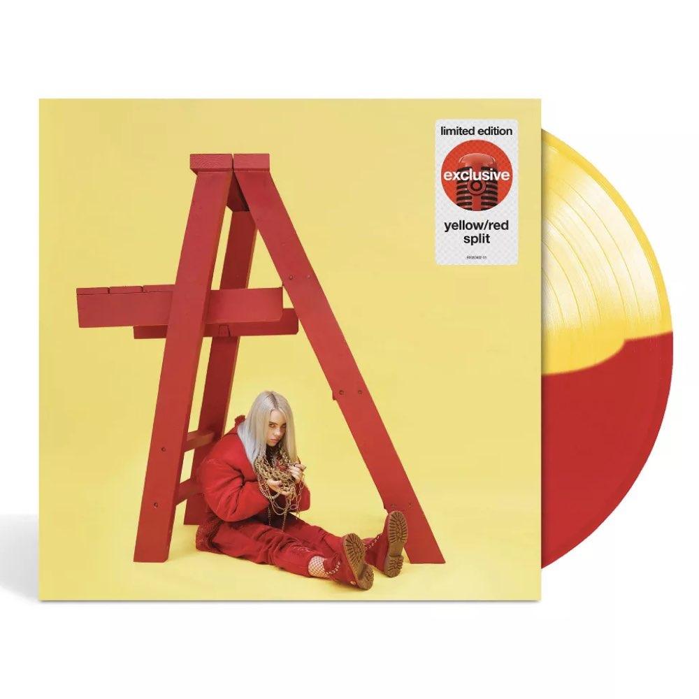 Billie Eilish - Don't Smile At Me [Target Exclusive - Yellow/Red Split Vinyl]