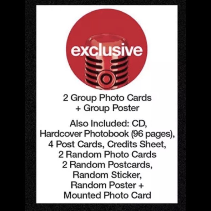 BLACKPINK - The Album [CD Boxset Version 1] [Target Exclusive, CD]