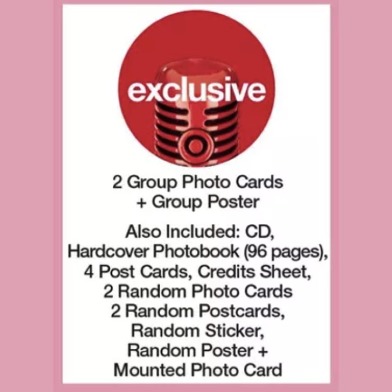 BLACKPINK - The Album [CD Boxset Version 2] [Target Exclusive, CD]
