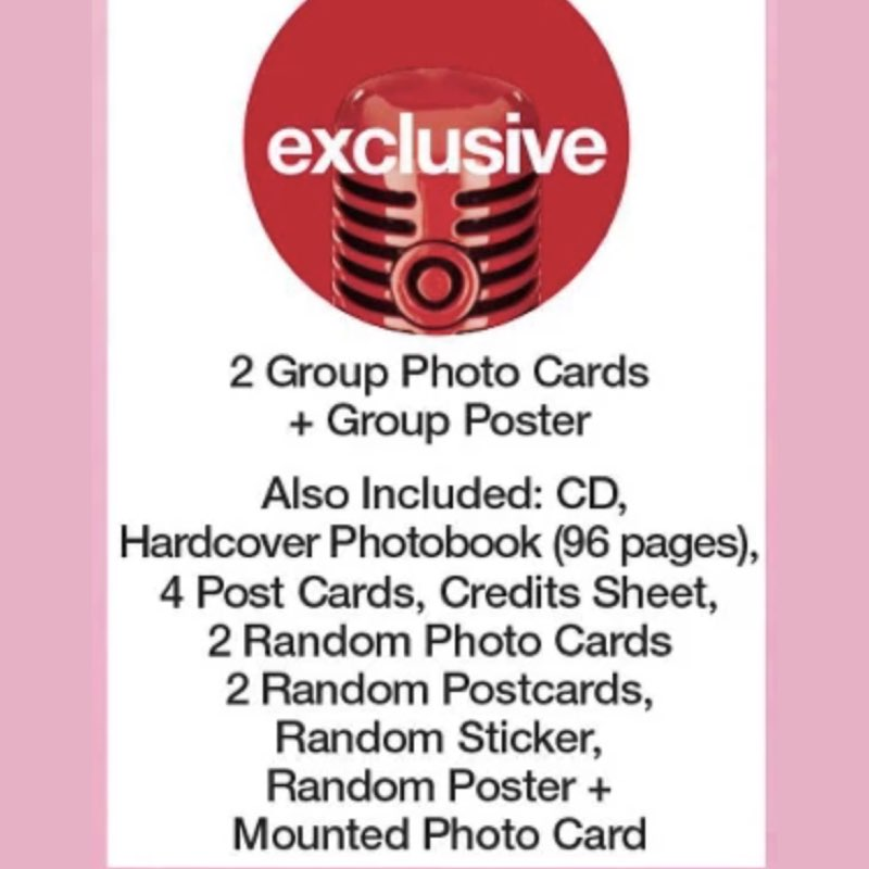 BLACKPINK - The Album [CD Boxset Version 4] [Target Exclusive, CD]
