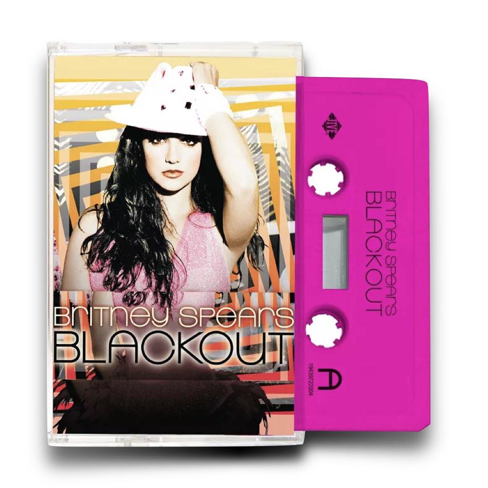 Britney Spears - Blackout Limited Cassette Tape
