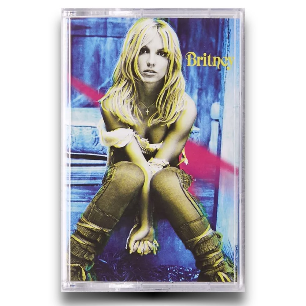 Britney Spears - Britney Limited Cassette Tape