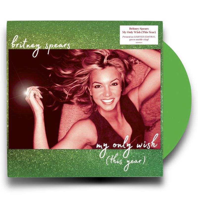 Britney Spears - My Only Wish [This Year] Limited LP