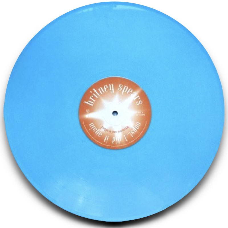 Britney Spears - Oops!... I Did It Again (Remixes and B-Sides) - Baby Blue Vinyl