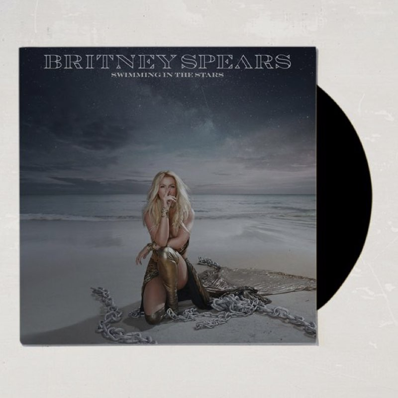 Britney Spears - Swimming in the Stars [Vinyl Single - Edição Limitada]
