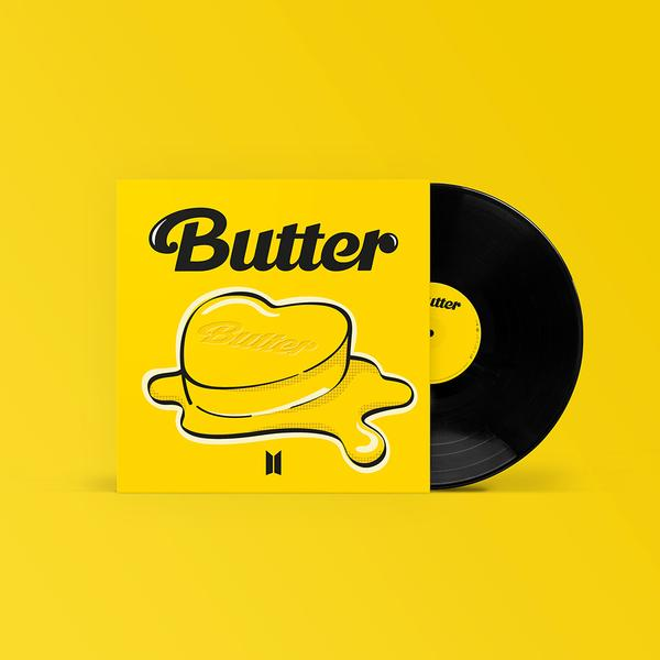 "BTS - Butter [7"" Black Vinyl - Edição Limitada]"