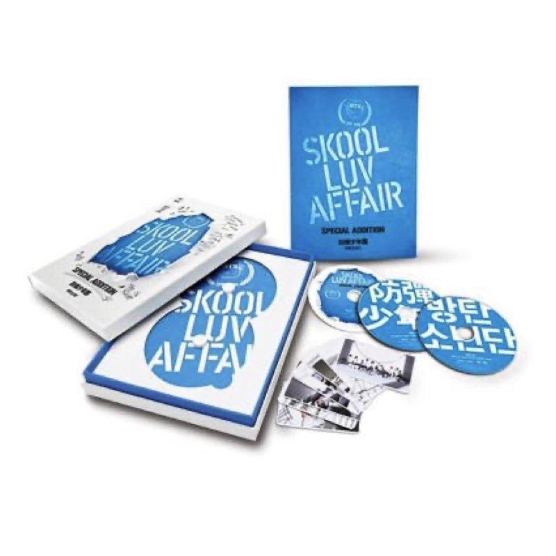 BTS - Skool Luv Affair [Special Addition] [CD/2DVD]