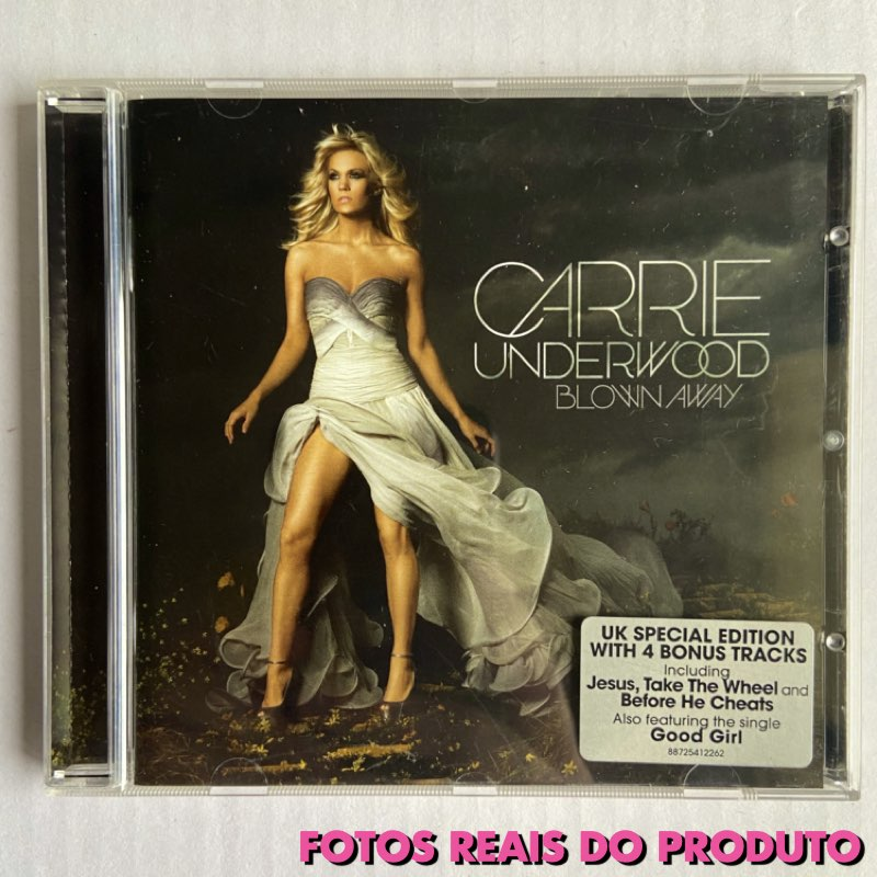 Carrie Underwood - Blown Away UK Special Edition [CD] - IMPORTADO