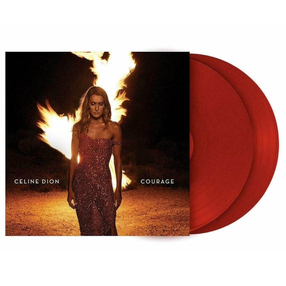 Celine Dion - Courage [Double Red Vinyl]