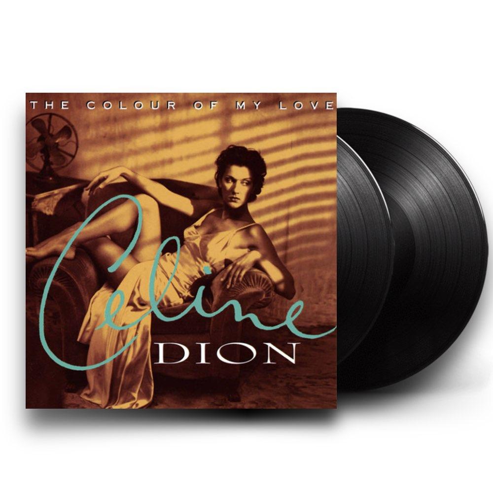 Celine Dion - The Colour Of My Love [Double Black Vinyl]