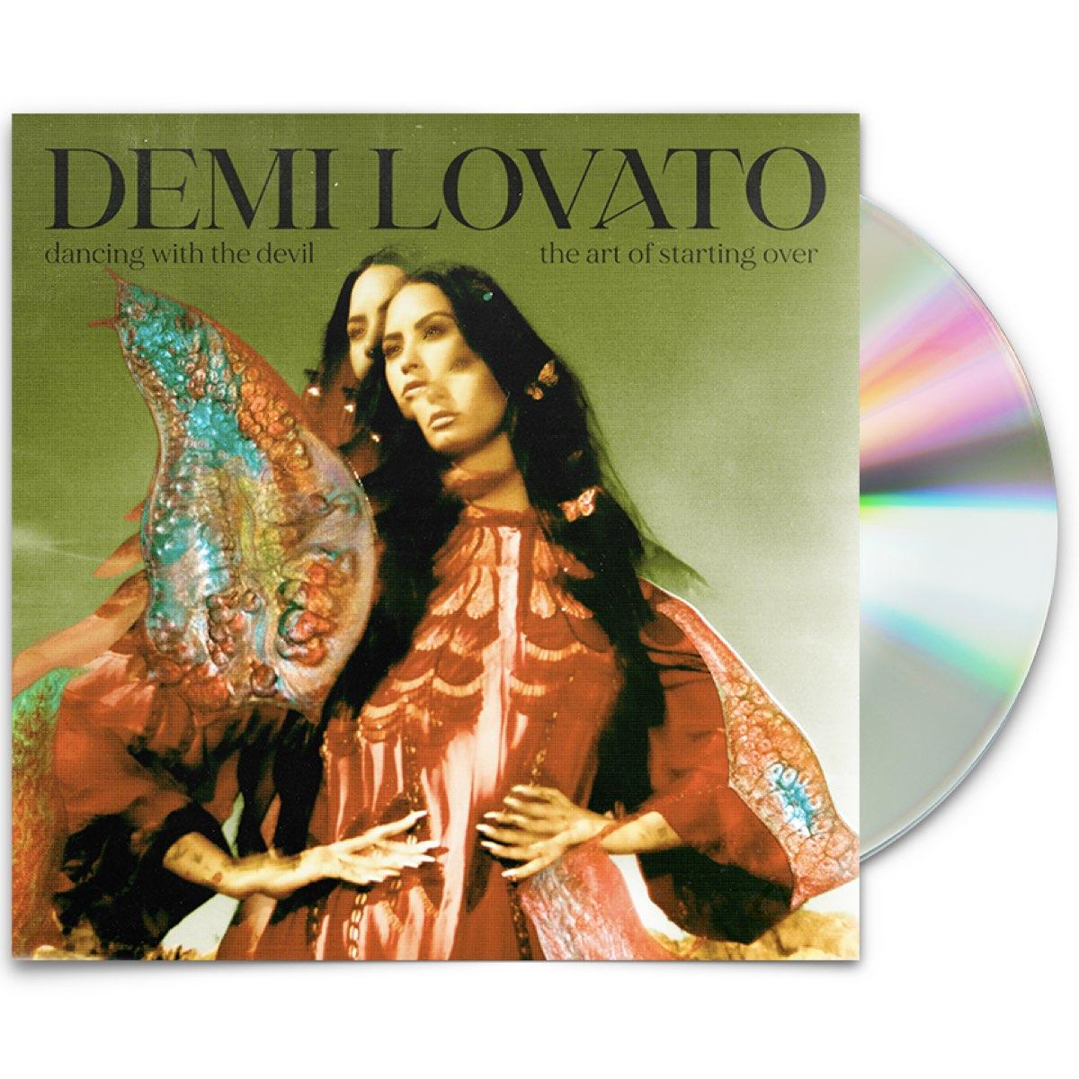 Demi Lovato - Dancing With The Devil... The Art of Starting Over [Edição Limitada - AUTOGRAFADA]