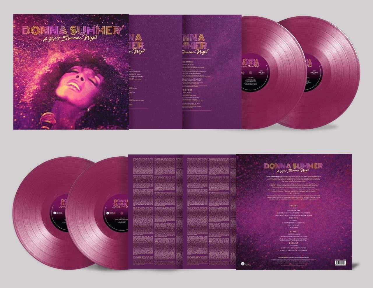 Donna Summer - A Hot Summer Night [Ed Limitada - Double Purple Vinyl]