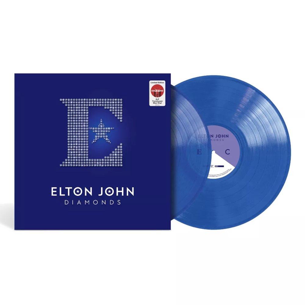 Elton John - Diamonds [Target Exclusive, Double Blue Vinyl]