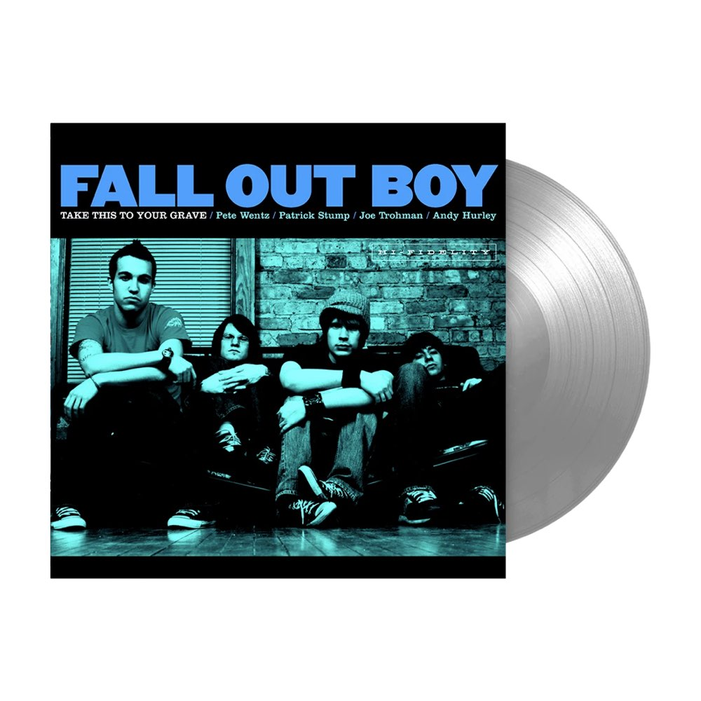 Fall Out Boy - Take This To Your Grave [Fueled by Ramen 25th Anniversary Edition Silver Vinyl]