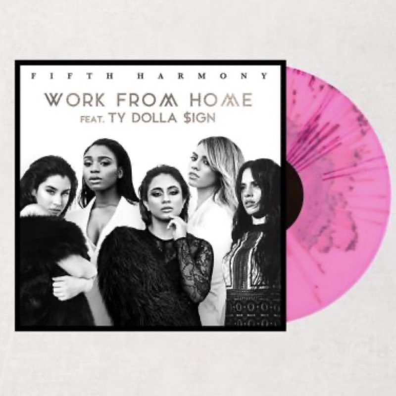 Fifth Harmony - Work from Home [Vinyl Single - Edição Limitada]