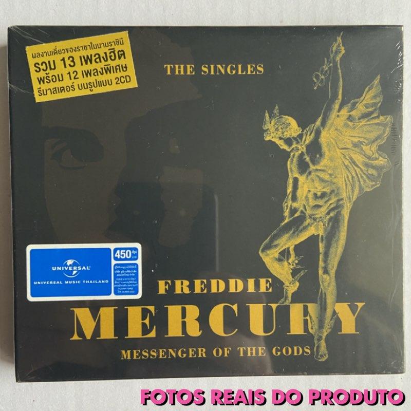 Freddie Mercury - Messenger of The Gods - The Singles [CD Duplo - Importado]