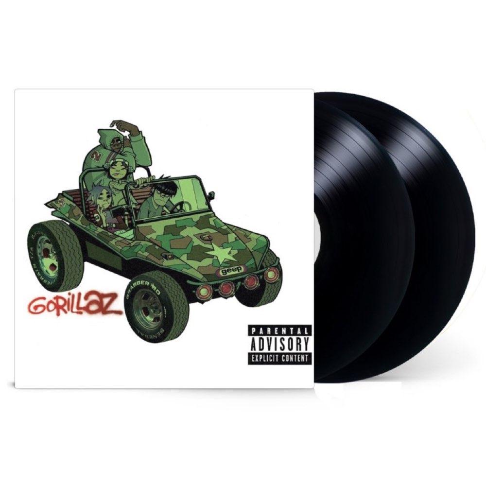 Gorillaz - Gorillaz [Double Black Vinyl - Gatefold]