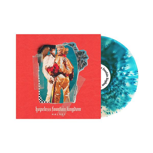 Halsey - Hopeless Fountain Kingdom [Clear Vinyl With Teal Splatter]