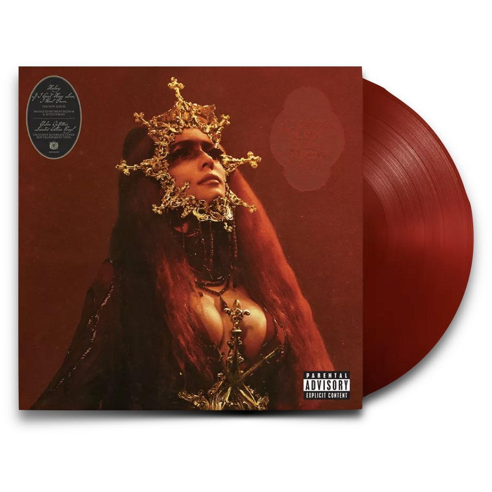 Halsey - If I Can't Have Love, I Want Power [Alternate Cover - Limited Edition - Red Vinyl - Urban Outffiters]