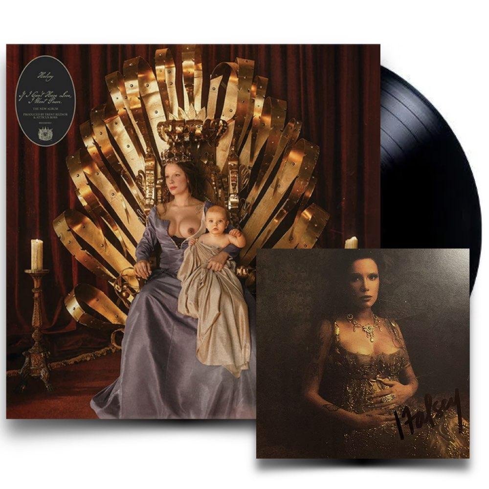 Halsey - If I Can't Have Love, I Want Power [Black Vinyl - COM CARD AUTOGRAFADO]