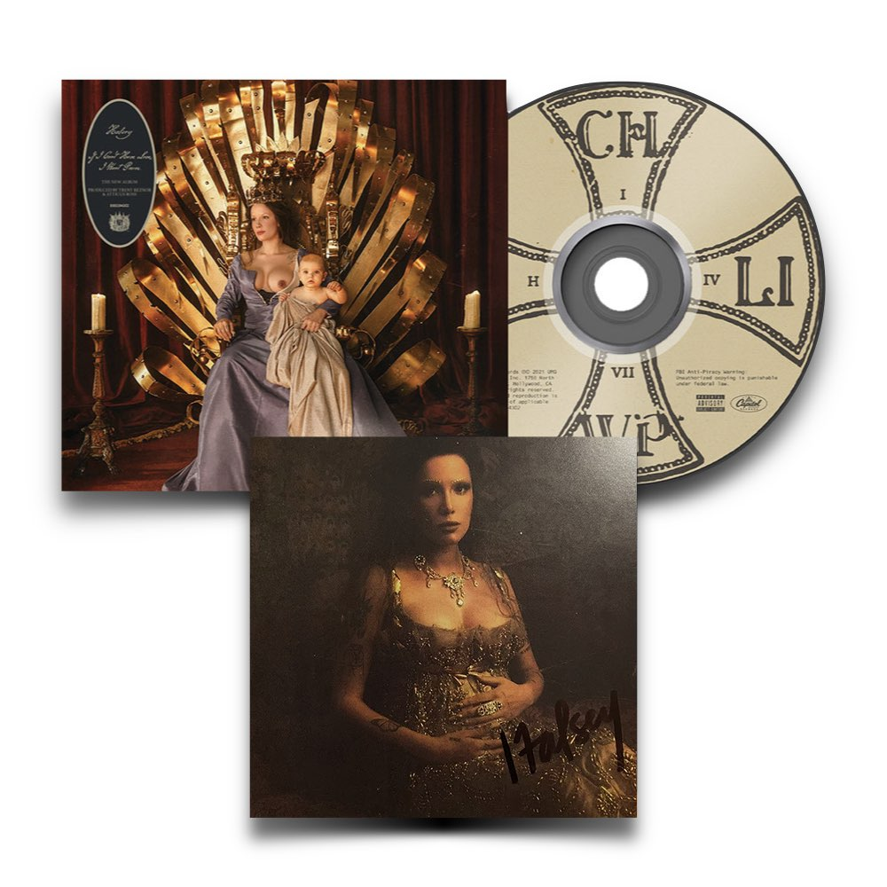 Halsey - If I Can't Have Love, I Want Power [CD AUTOGRAFADO]