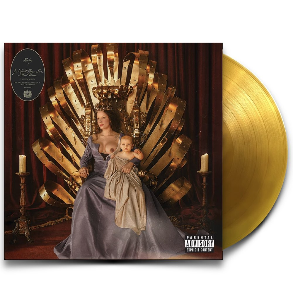 Halsey - If I Can't Have Love, I Want Power [Limited Edition - Clear Amber Vinyl]