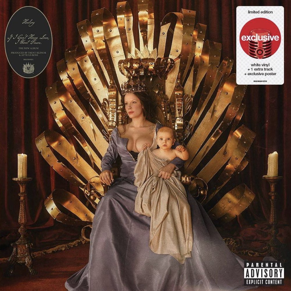 Halsey - If I Can't Have Love, I Want Power [Target Exclusive, CD]