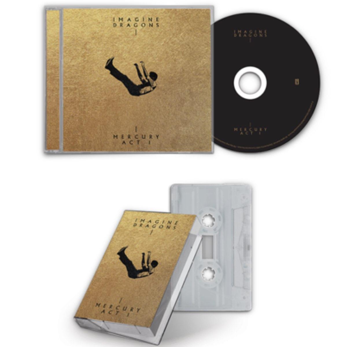 Imagine Dragons - Mercury: Act 1 [Combo CD + Fita K7 + Card Autografado]