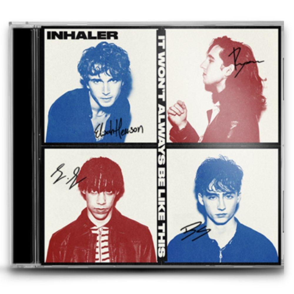 Inhaler - It Won't Always Be Like This [CD AUTOGRAFADO]