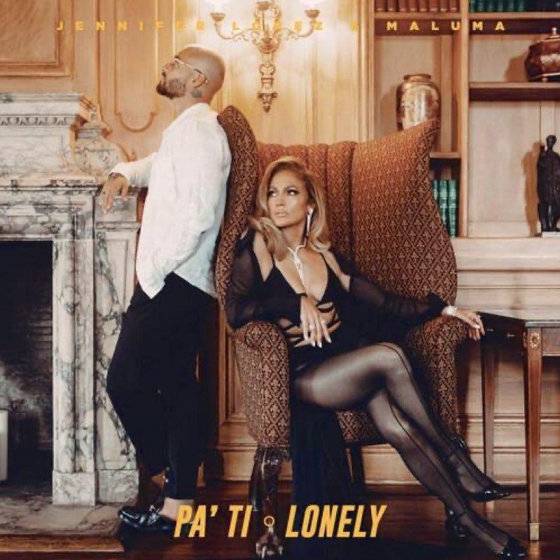 Jennifer Lopez & Maluma - Pa Ti + Lonely [Turquoise Vinyl]