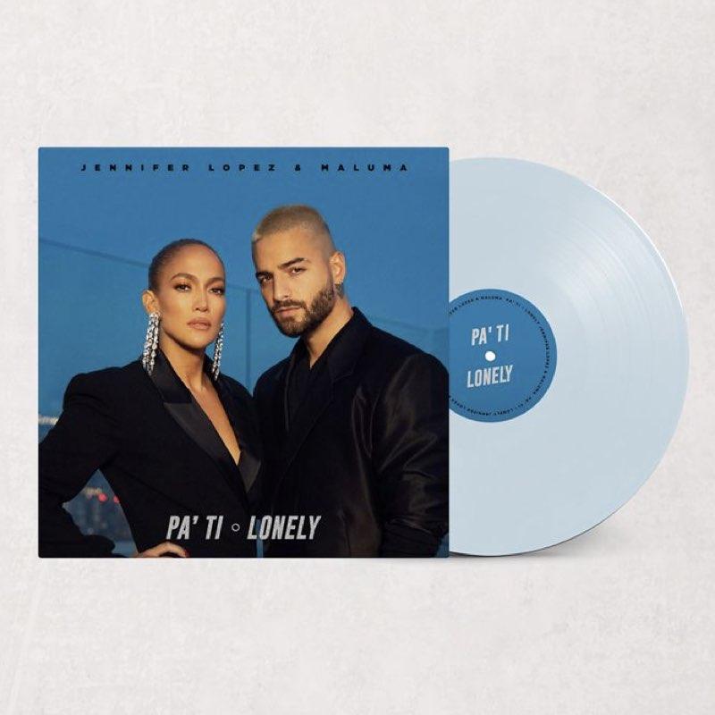 Jennifer Lopez & Maluma - Pa'Ti / Lonely [Vinyl Single - Edição Limitada]
