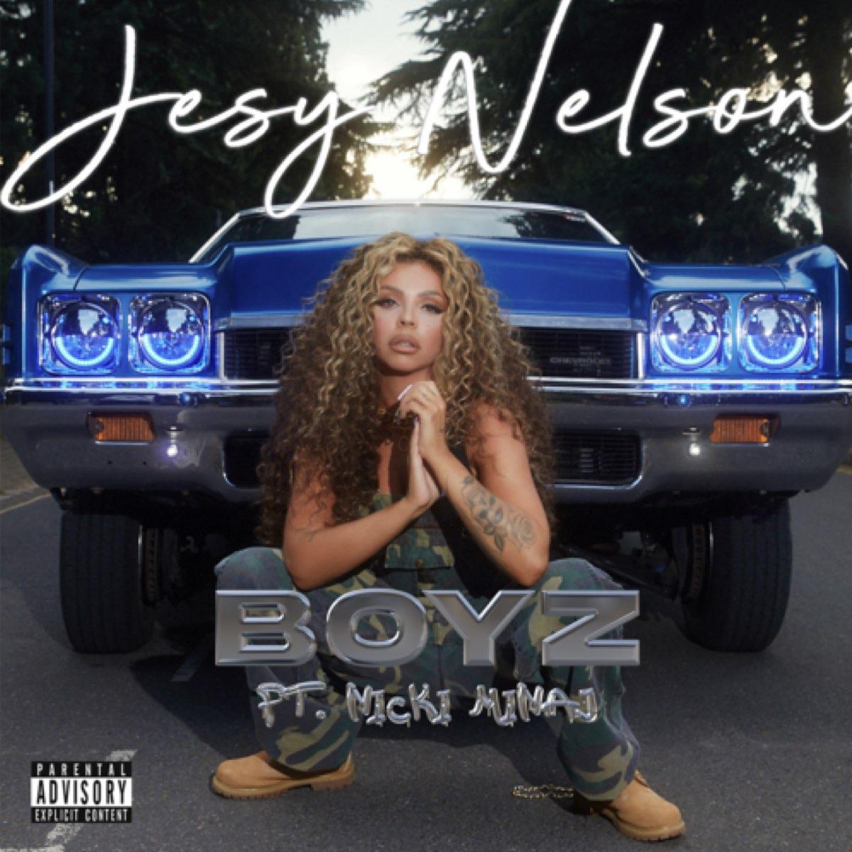 Jesy Nelson - Boyz feat Nicki Minaj [CD SINGLE AUTOGRAFADO]