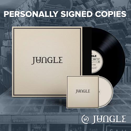 Jungle - Loving in Stereo [Combo CD + Vinil Autografado]