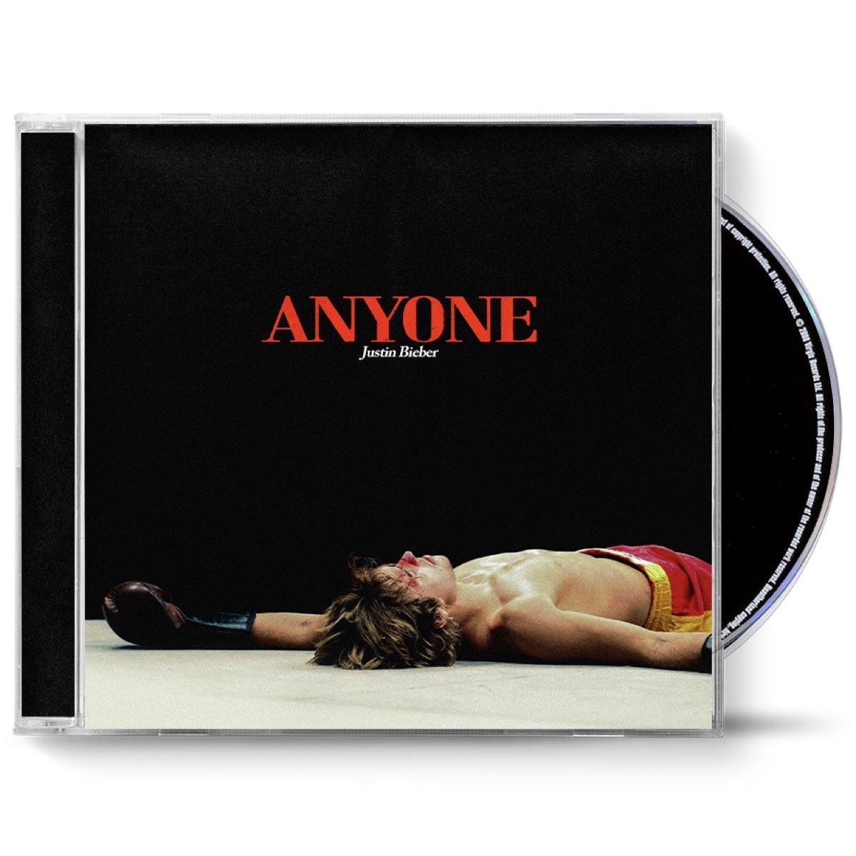 Justin Bieber - Anyone [CD Single]