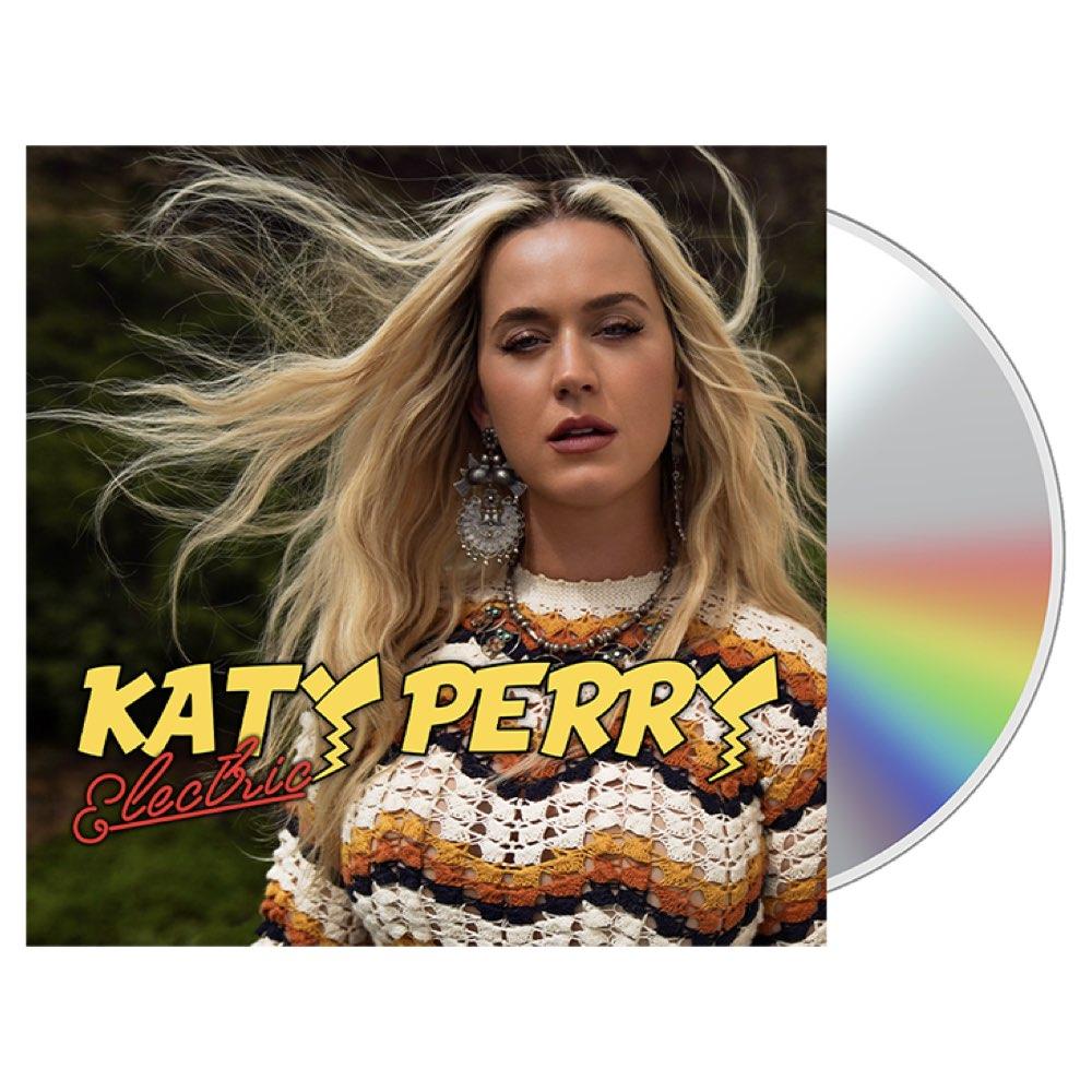 Katy Perry - Electric [CD Single - Pokémon Soundtrack]