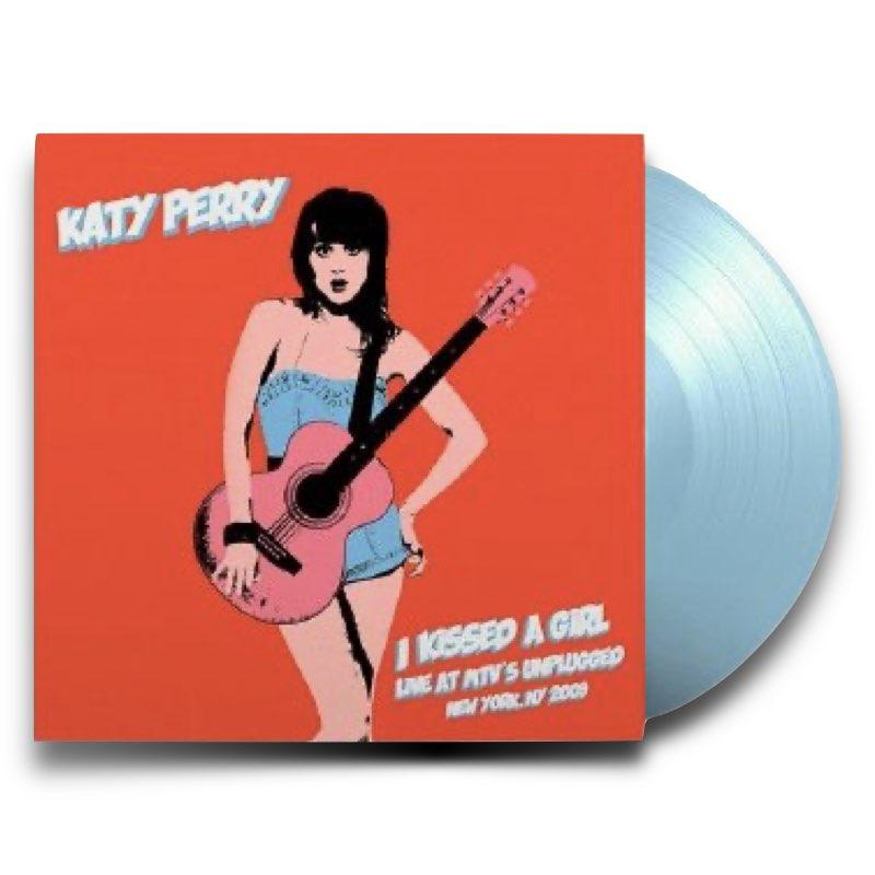 Katy Perry - I Kissed A Girl From MTV'S Unplugged [Vinyl Single - Edição Limitada]