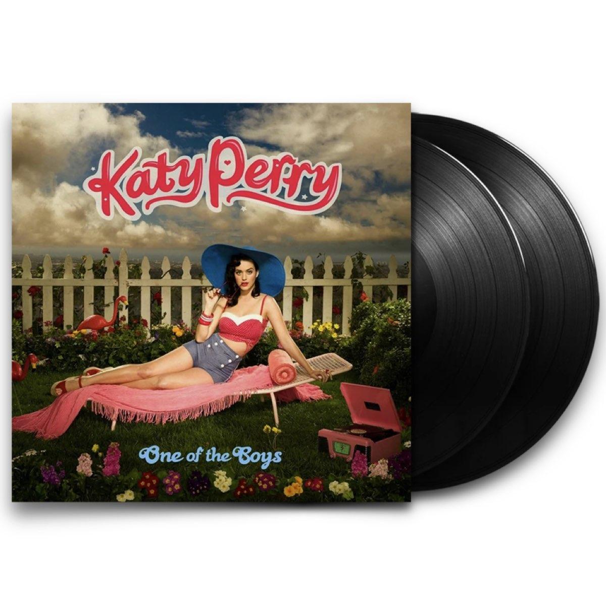 Katy Perry - One Of The Boys [Double Black Vinyl]