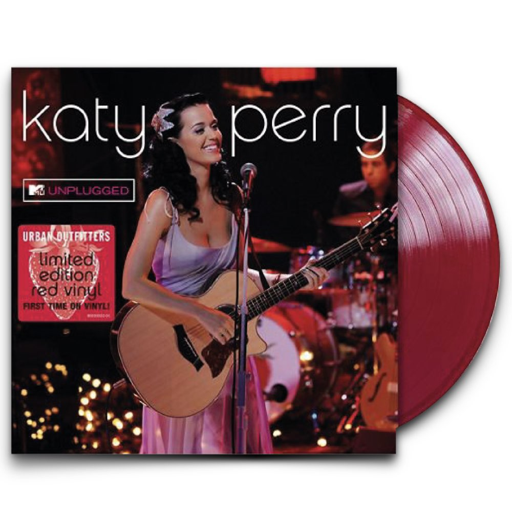 Katy Perry - Unplugged [Live At MTV] - Limited Red Vinyl