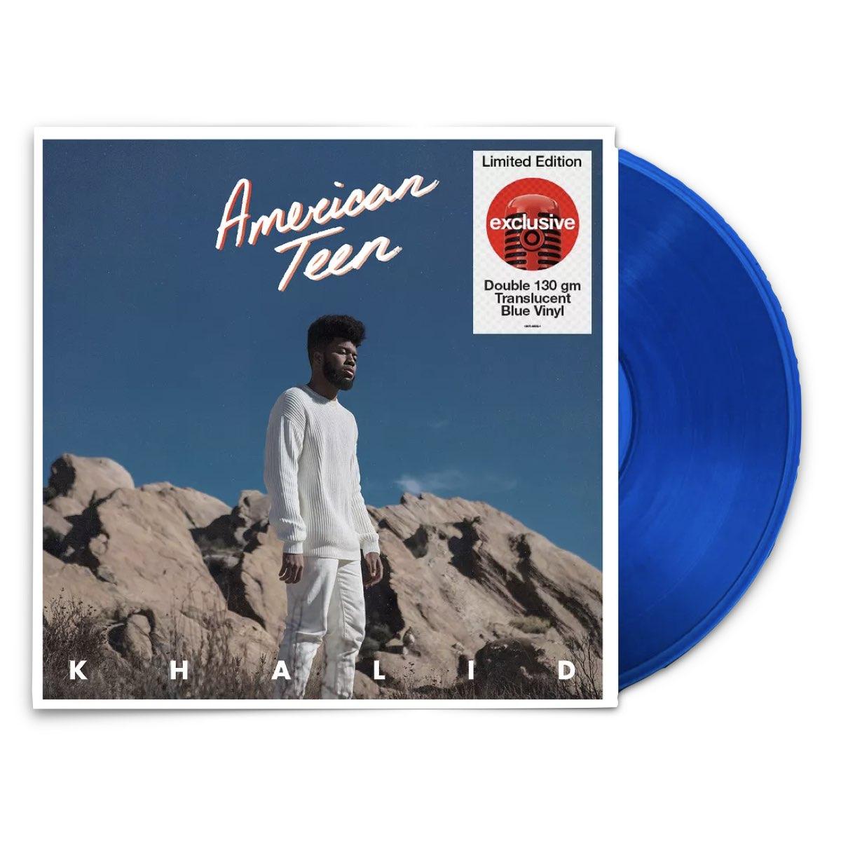 Khalid - American Teen [Target Exclusive, Double Translucent Blue Vinyl]
