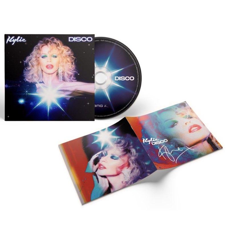 Kylie Minogue - Disco [CD Autografado]