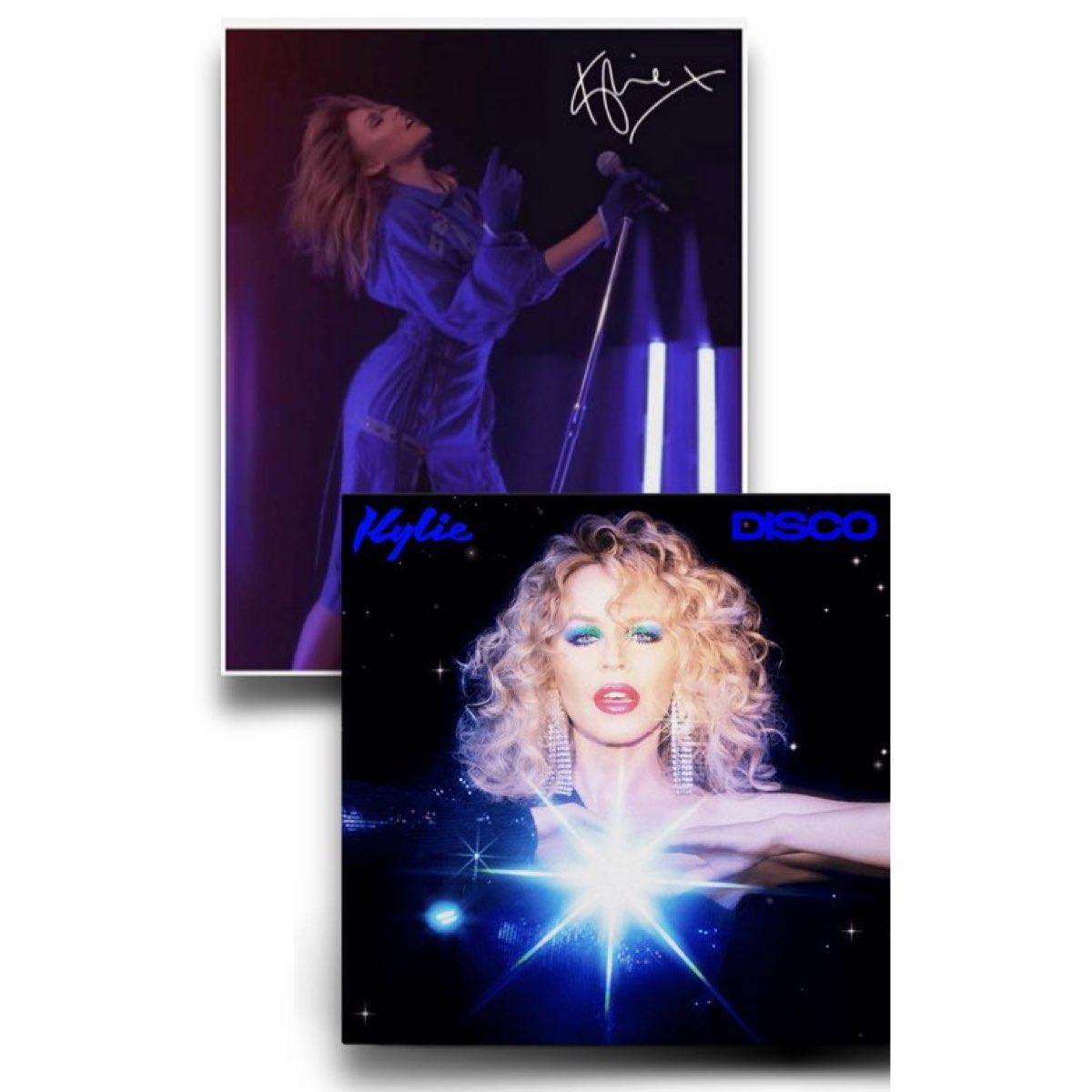 Kylie Minogue - DISCO [Edição Deluxe + Foto A4 Autografada]