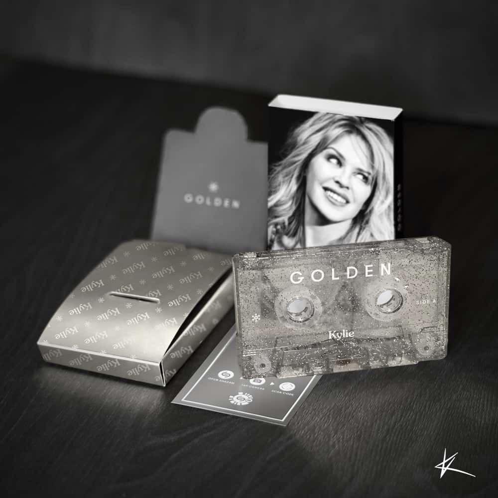 Kylie Minogue - Golden [Cassete - Christmas Edition]