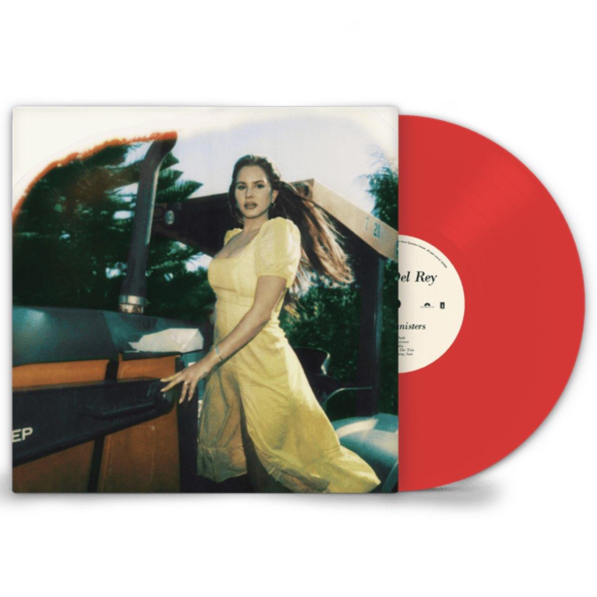 Lana Del Rey - Blue Banisters [Double Transparent Red Vinyl - HMV Exclusive]